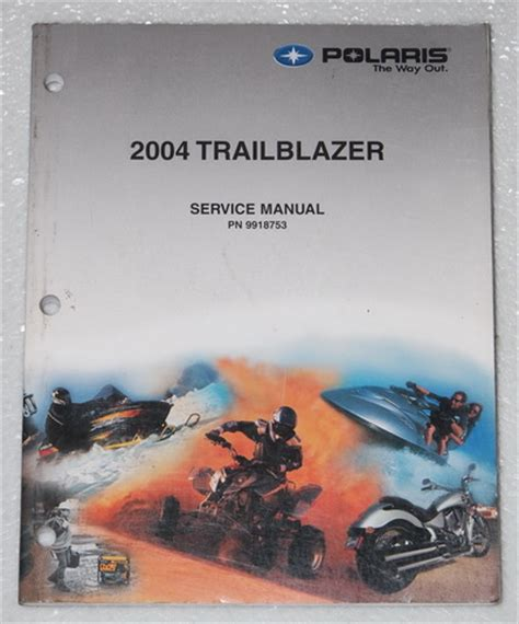 2004 Polaris Trail Blazer 250 Atv Service Manual Oem