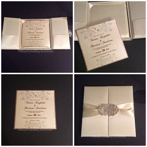 Boxed Wedding Invitations