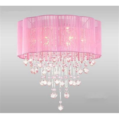 girls ceiling light pink chandelier l 15 unbreakable refined arts in your