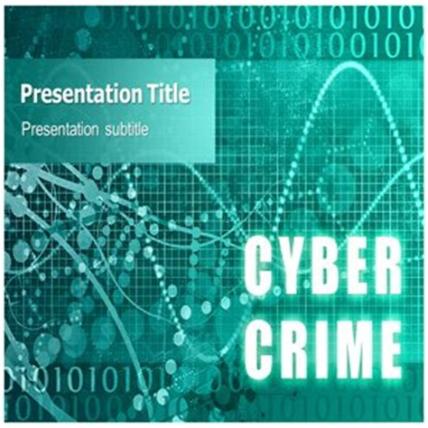 Ppt On Cyber Crime Cyber Crime Ppt Templates Free