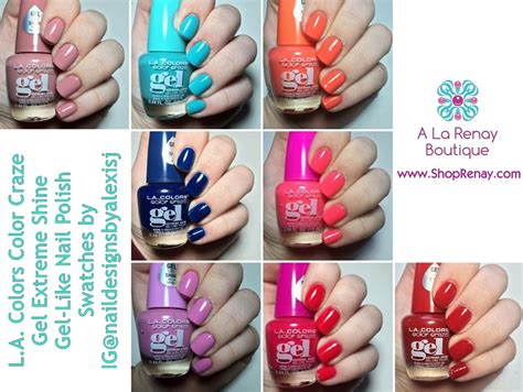 gel nail polish l l a colors gel extreme shine nail polish on storenvy