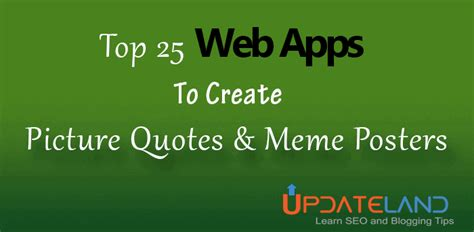 Best App To Create Memes - top 22 web apps to create picture quotes and meme posters