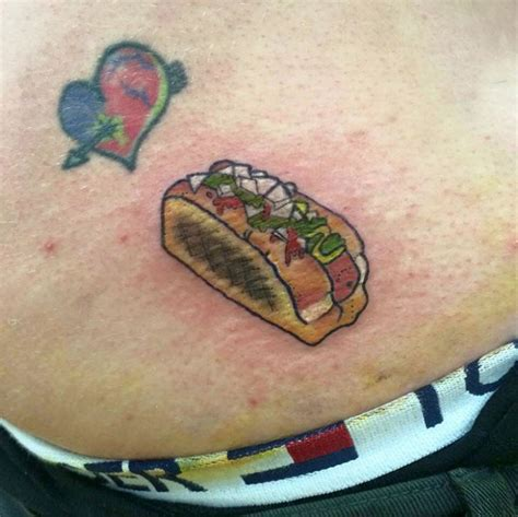 hot dog tattoo 21 designs ideas design trends