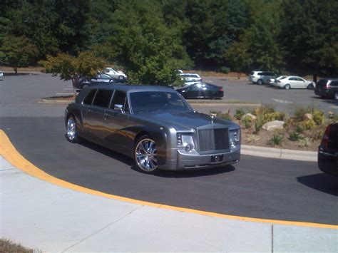 asheville rolls royce phantom wedding limo royal