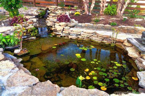beautiful backyard ponds 42 incredibly beautiful backyard ponds for your inspiration