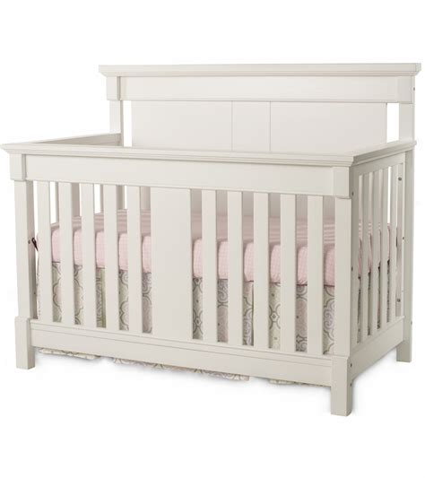 Child Craft Bradford 4 In 1 Convertible Crib In Matte White Convertible White Cribs
