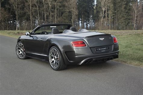 mansory bentley mansory creates 50 exclusive bentley continental gt c editions
