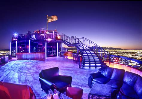 Roof Top Bars Vegas by Bars And Clubs With Unbeatable Las Vegas Views Las Vegas