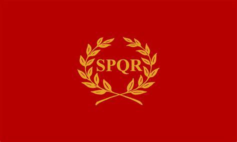 ancient roman empire flag nova roma wikipedia