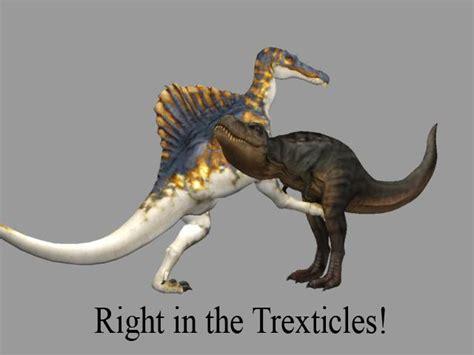 Sexual Tyrannosaurus Meme - spinosaurus vs tyrannosaurus by ikechi1 on deviantart