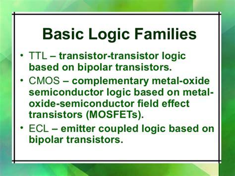 bipolar transistor logic families digital ic ajal crc