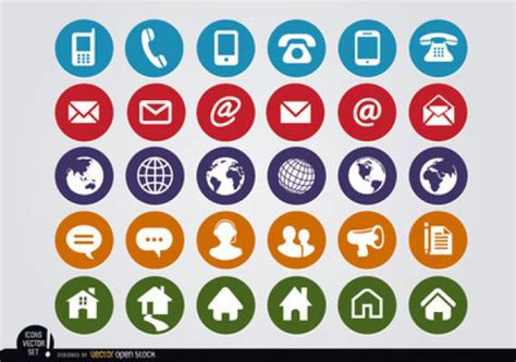 Resume Address Icon 10 Quality Free Flat Icon Sets For Your Designs Sitepoint