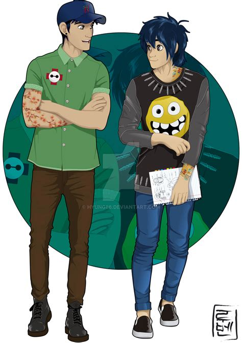 disney university hiro and tadashi by hyung86 on deviantart