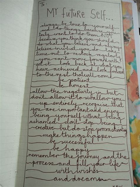 sweet up letters to my future self journal lettering and journaling