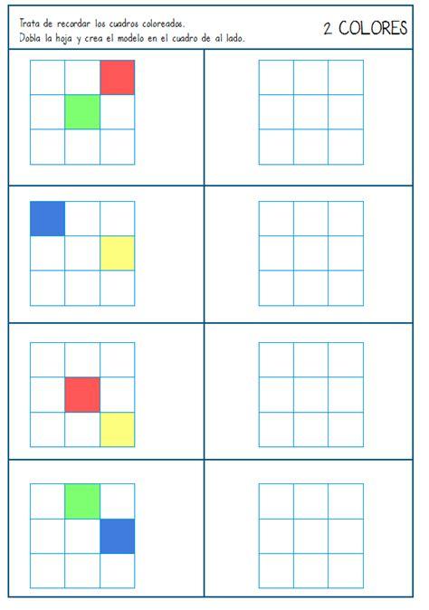 imagenes memoria visual 32 tareas para trabajar la memoria visual y secuencial
