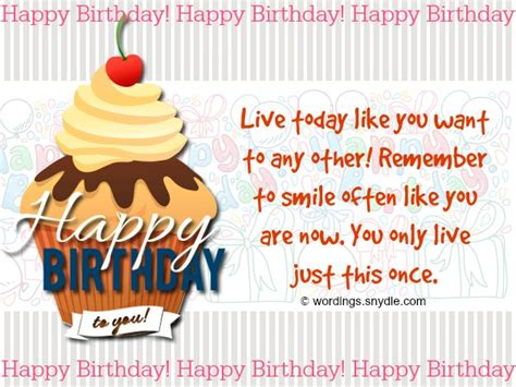How To Wish Your Happy Birthday Happy Birthday Wishes And Messages Wordings And Messages