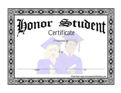 exle certification letter for honor student 28 certification letter for honor student student