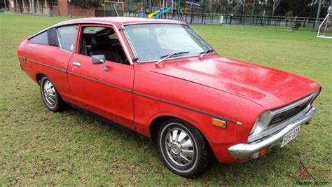 datsun 120y coupe fastback 2 door manual wow turbo serious