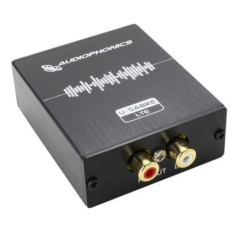 Usb Dac audiophonics u sabre lte asynchronous usb dac 24bit 96khz sa9027 es9023 audiophonics