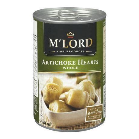 m lord vegetables m lord whole artichoke hearts walmart ca