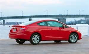 Honda Civic 2012 Coupe Car And Driver