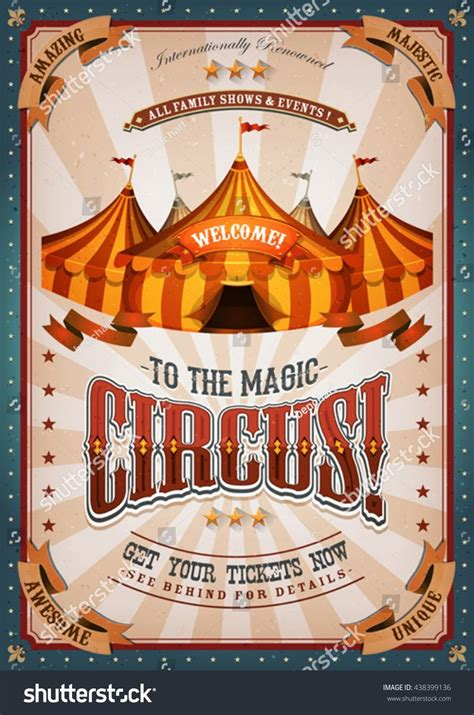 Vintage Circus Flyer