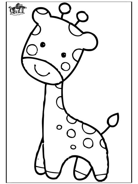 coloring pages of cartoon giraffes giraffe coloring pages funnycoloring com animals