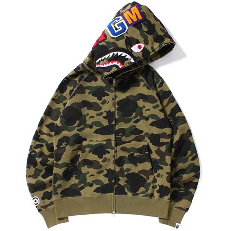Bape Shark Camo bape camo hoodie www pixshark images galleries