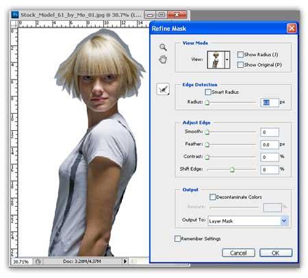 tutorial seleksi rambut dengan photoshop cs3 tutorial photoshop seleksi rambut photoshop dengan hasil