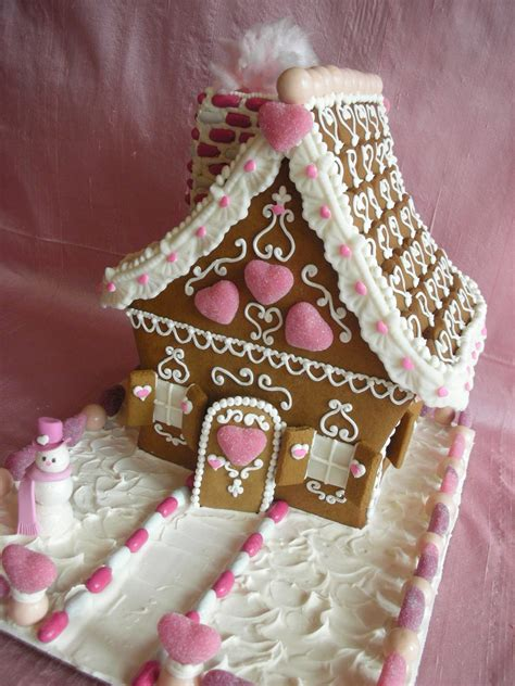 the gingerbread house with love confection valentine gingerbread house by with love confection