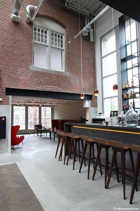 cafe design by gustav hallen hotel de hallen amsterdam hotspots in amsterdam