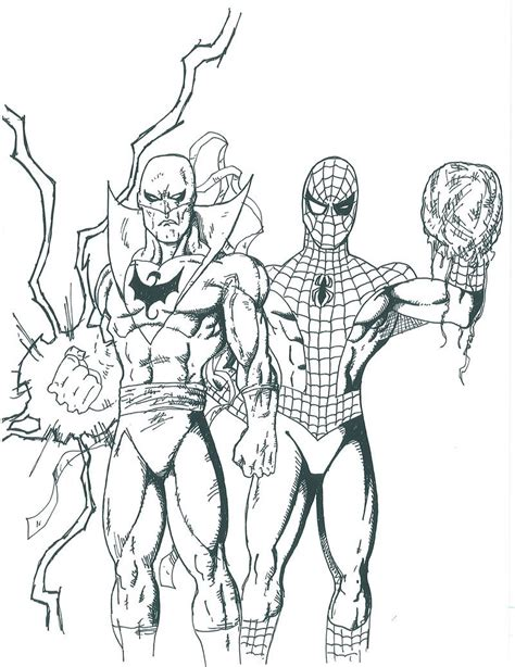 ironman and spiderman coloring pages top 20 spiderman coloring pages printable
