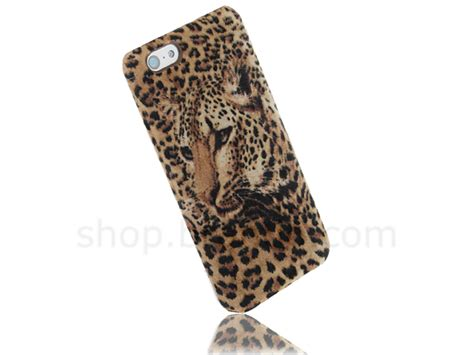 For Iphone 5c Bumper Casing Animal Print Tiger Harimau iphone 5c leopard print faux suede