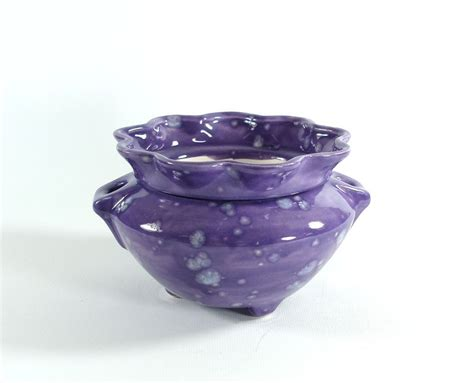 african violet pot self watering ceramic choice of colors
