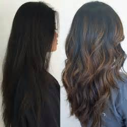 wash hair after balayage highlights top 25 best balayage on black hair ideas on pinterest