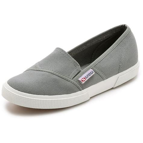 superga loafers superga cotu slip on sneakers 60 liked on polyvore
