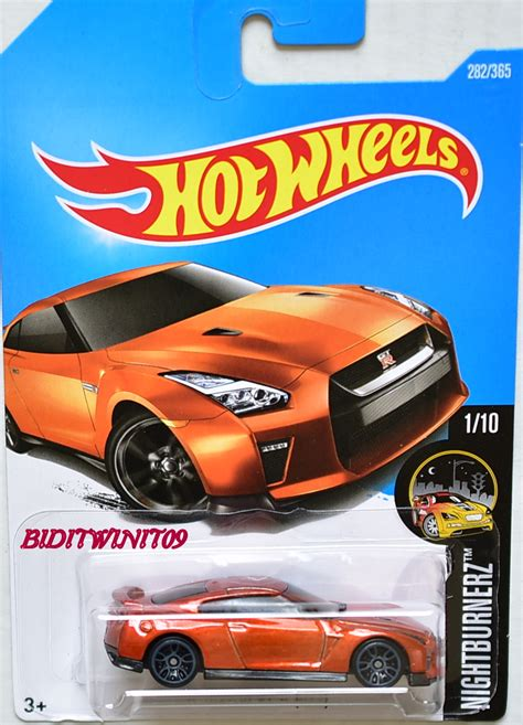 nissan hotwheels wheels 2017 nightburnerz 17 nissan gt r r35 1 10