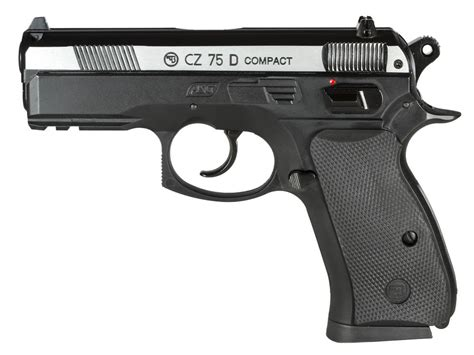 Bb Rd cz 75d compact co2 bb pistol dual tone air guns