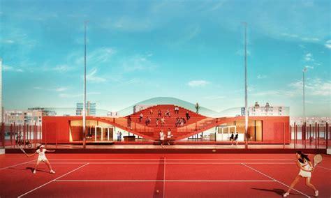 Studi Architettura Amsterdam by Amsterdam Tennis Club Di Mvrdv Viaggi Di Architettura