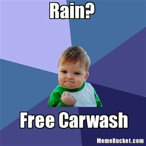 Funny Rain Memes - rain create your own meme
