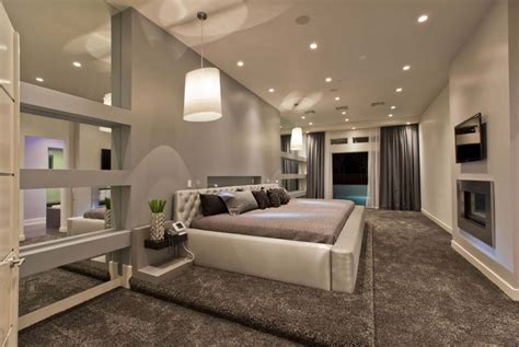 Large Contemporary Bedroom Interior Idea Decosee Com Interior Design Bedroom Modern