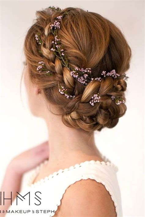 Easy Bridesmaid Hairstyles For Medium Length Hair by 25 Best Medium Hair Updo Ideas On Medium