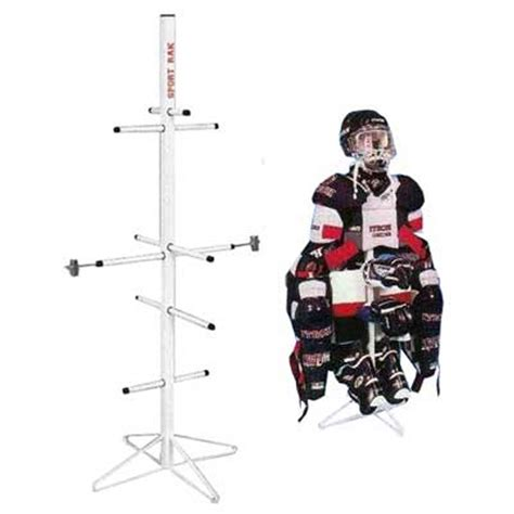 Hockey Drying Rack by Gear Single Metal Hockey Dryer Rack
