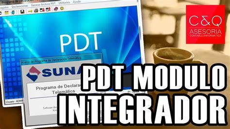 Pdt Modulo Integrador Youtube | pdt modulo integrador youtube