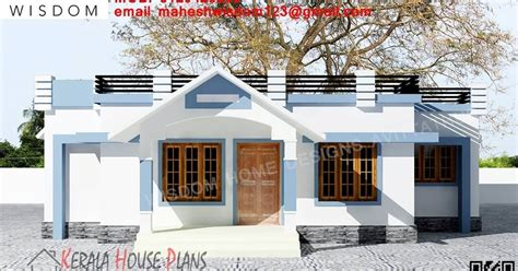 home design small budget 1008sqft small budget kerala house design and elevation