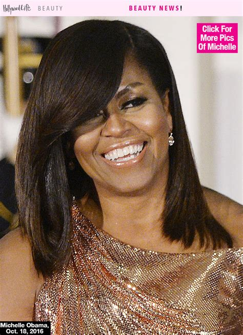 michaele obama ware hair weave michelle obama s hair at last state dinner stunning