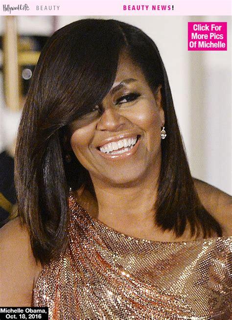 michelle obama hair michelle obama s hair at last state dinner stunning