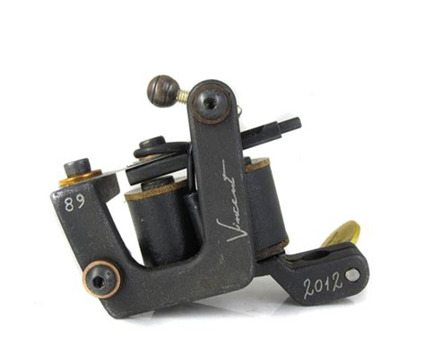 tattoo machine vincent gold series vc collection coil machines worldwide