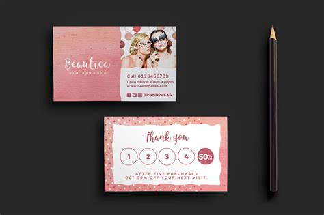 Free Loyalty Card Templates For Photoshop Illustrator Brandpacks Loyalty Card Template