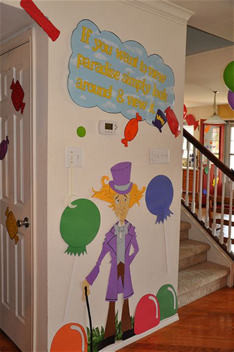 Willy Wonka Decorations by Willy Wonka And The Chocolate Factory Birthday Ideas